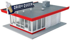Walthers Cornerstone HO Scale Building/Structure Kit Vintage Dairy Queen Store
