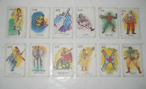 HE MAN MOTU CARDS GAMES VINTAGE 1983 - BRAND /JOKER INCOMPLETE