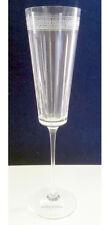 Wedgwood Dynasty Crystal Champagne Flute 4 Piece Set Etched Greek Key New