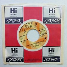 AL GREEN 45 Look What You Done to me HI Mono /Stereo PROMO Near-MINT soul a300