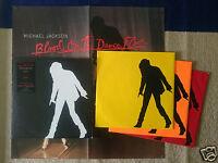 LP Michael Jackson Blood on the dance floor 3 records 1997 yellow,orange,red