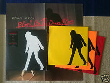 LP Michael Jackson Blood on the dance floor 3 records 1997 yellow,orange,red