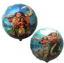"18"" Inch Moana Maui Round Shape Foil Balloon Kids Birthday Party Decoration"