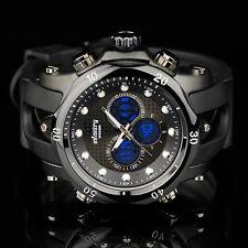 INFANTRY Mens Dgital Quartz Wrist Watch Police Style Sport Chrono Black Rubber