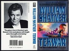 William Shatner BORIS VELLEJO ART TEKWAR COVER PROOF w) STAR TREK AD Ace Foil C.