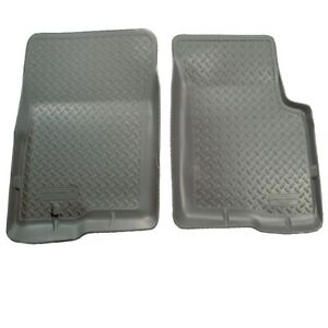 Husky 35112 Classic Style Grey Front Rugged Floor Liners for 95-04 Toyota Tacoma