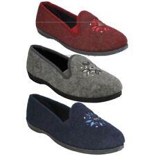 Zapatillas de andar textiles Clarks por casa de mujer