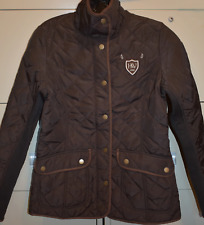Horseware Polo Heritage Quilted Equestrian Jacket - Brown Extra Small