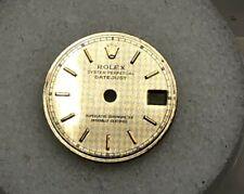 Pattern Dial Part-T Swiss T-6917-69173-69178 Rolex Rare Vintage Lady Datejust