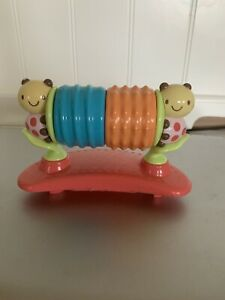 Bright Starts Pink Entertainer Exersaucer Rattle Spinner Toy Replacement Part