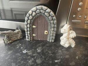 Castle Fairy Door Job Lot Rubber Latex Moulds Dragon Sign Bundle Casting Craft