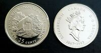 1992 Canada 125th New Brunswick 25 Cents *Proof Like* Quarter!!