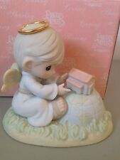 PRECIOUS MOMENT FIGURINE - THE MOST PRECIOUS PLACE ON EARTH -  879711 - CHAPEL