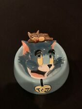 Tom & Jerry Cat Bowl 1997 Warner Bros Studio Store Rare used