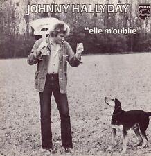 """45 T SP   JOHNNY HALLYDAY """"ELLE M'OUBLIE"""" ...."""