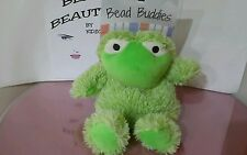 Bead Buddies, Aromatherapy Plush, Microwavable and Freezable FROG >> NEW