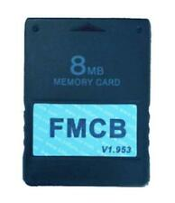 FMCB McBoot Memory Card V1.953 for Sony Ps2 PlayStation 2 8mb Mod Your Ps2