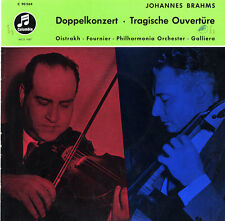 BRAHMS Double Concerto Tragic Overture OISTRAKH Violin FOURNIER Cello 33WCX-1487