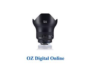 New Carl Zeiss ZF.2   2.8/15mm (Nikon) Lens 1 Year Au Warranty