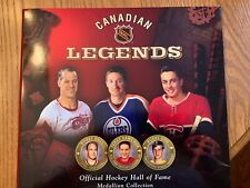 Canadian Legends Hockey Hall of Fame Collectors 22 Medallion Collection