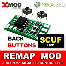 XBOX 360 MOD KIT, REMAP BUTTONS CHIP,  SCUF  like CHIP, ADD-ON MODDED CONTROLLER