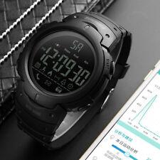 SKMEI Men's Waterproof Sport Army Alarm Date Analog LED Digital Wrist Watch