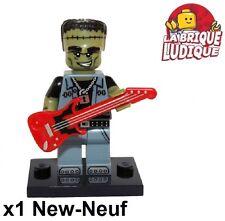 Lego - Figurine Minifig Minifigurine série 14 monsters frankenstein rocker NEUF