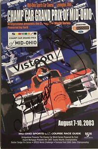 03 Champ Car Grand Prix of Mid-Ohio Program Signed by Bourdais & Junqueira