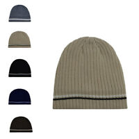 New Men Women Winter Knitted Hat Beanie Skull Cap Comfy Wooly Warm Plain Classic