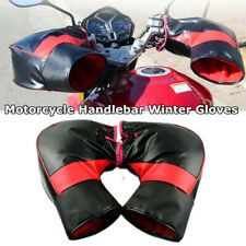 Motorcycle Winter Cold Windproof Thick Warm Leather Handle Glove fit for Yamaha