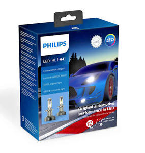 H4- Philips X-tremeUltinon LED Gen2 Headlights 11342XUWX2 (2 LED bulbs)