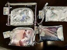 Disney SOHO Cinderella Cosmetic Bag lot of 4