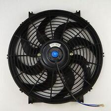"Universal 14"" inch Slim Fan Push Pull Electric Radiator Cooling 12V Mount Kit"