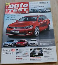 auto Test - 02/2014 - Der neue VW Passat