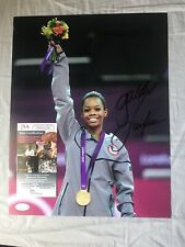 Gabby Douglas Signed Autographed 11x14 Photo 2012 Olympic Gold Medal JSA COA