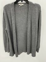 Madewell Donegal Kent Cardigan Sweater In Coziest Yarn Size S Small Gray