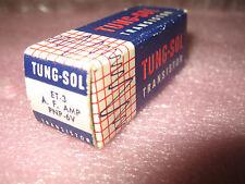 Vintage TungSol ET-3 Germanium PNP Transistor