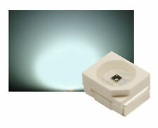 50  SMD LED PLCC2 PLCC-2 3528 WEISS 6000°K 3000 mcd
