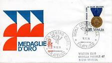 Repubblica Italiana 1973 FDC Venetia Club Ass. Medaglie d'Oro Valor Militare (E)