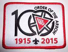 Order of the Arrow 100th Anniversary Official Centennial Patch - OA 2015 NOAC