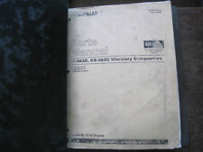 CAT Caterpillar CS/CP-563C PART MANUAL BOOK CATALOG VIBRATORY COMPACTOR