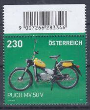 """Sondermarke Oberrand mit dem Puch """"Postlermoped"""" MV 50 V"""
