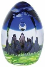 Caithness Glass paperweight Sacred Circle Twilight Limited Edition of 150