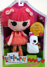 "MGA Lalaloopsy Soft Doll 10.5"" TIPPY TUMBLELINA with pet swan ballerina NEW"