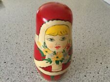 "Matreshka Authentic Russian 5 Nesting Doll 5 1/2"""