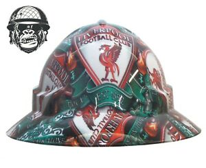 Custom Hydrographic Safety Hard Hat LIVERPOOL WIDE