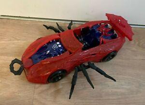 Vintage Marvel ToyBiz Spider-Man Web Car Vehicle Toy- 1997- With Legs