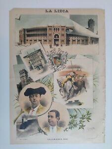 1893 La Lidia Revista Taurina Año XII Número 21 Salamanca Toros Corrida