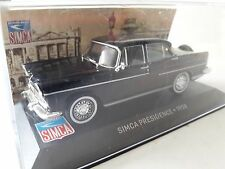 CAL325 SIMCA PRESIDENCE 1958 NEGRO