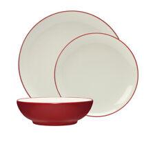 NEW Noritake Colorwave Raspberry Dinner Set 12pc (RRP $275)